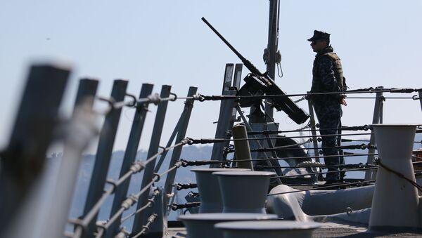 Vụ tập trận của Mỹ ở Biển Đen - Sputnik Việt Nam