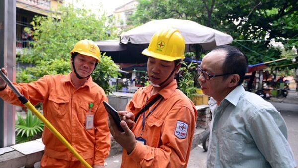 Giá điện được điều chỉnh lên mức bình quân là 1.720 đồng/kWh - Sputnik Việt Nam