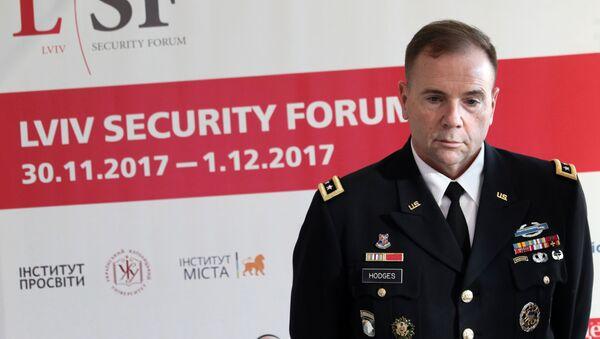Trung tướng Mỹ Ben Hodges - Sputnik Việt Nam