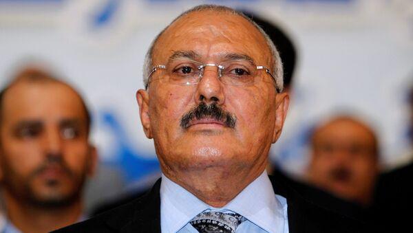 الرئيس السابق علي عبدالله صالح في صنعاء، اليمن 3 سبتمبر / أيلول 2012 - Sputnik Việt Nam