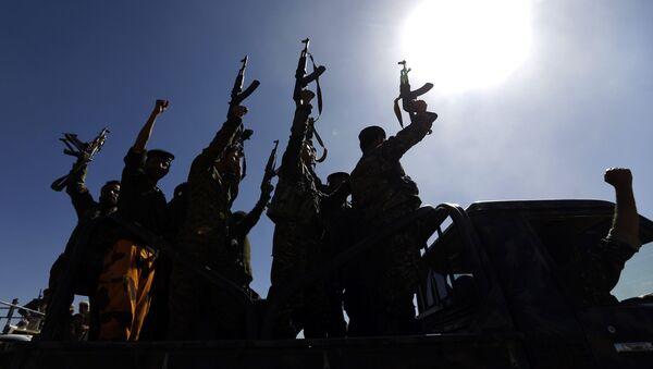 Бойцы группировки хуситов в Йемене - Sputnik Việt Nam