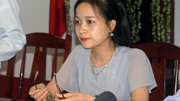 Từ Thị Bích Nguyệt, Phó tổng giám đốc 9X của BOT Cần Thơ - Phụng Hiệp. - Sputnik Việt Nam