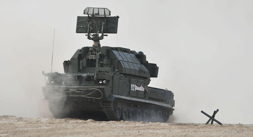 """Hệ thống tên lửa phòng không """"Tor"""""""