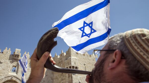 Cờ Israel tại Jerusalem - Sputnik Việt Nam