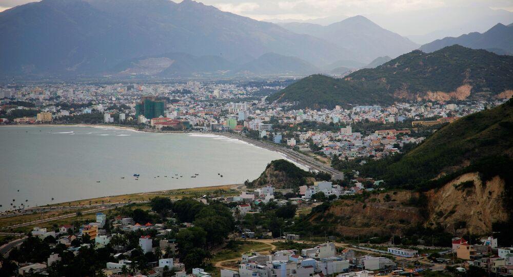 Quang cảnh thành phố Nha Trang của Việt Nam