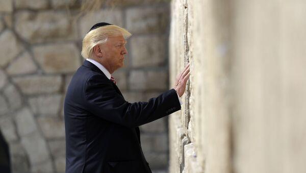 Donald Trump tại Jerusalem - Sputnik Việt Nam