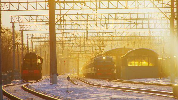 Tuyến đường sắt Nga - Sputnik Việt Nam