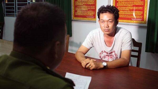 Lê Anh Tú bị bắt sau 10 ngày chém tài xế. - Sputnik Việt Nam