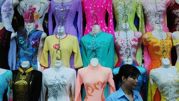 Chợ Bến Thành ở thành phố Hồ Chí Minh. - Sputnik Việt Nam