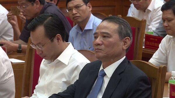 Ông Trương Quang Nghĩa thay ông Xuân Anh làm Bí thư Đà Nẵng - Sputnik Việt Nam
