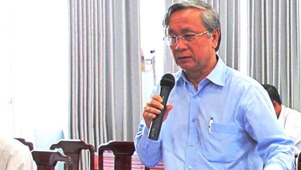 Ông Lê Thanh Liêm, nguyên Giám đốc Sở y tế tỉnh Long An, bị khởi tố - Sputnik Việt Nam