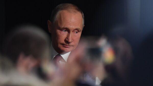 Ngày 14 tháng 12 năm 2017. Cuộc họp báo lớn thường niên của ông Vladimir Putin - Sputnik Việt Nam