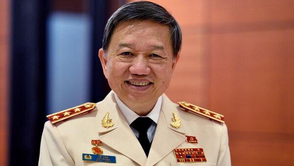 Thượng tướng Tô Lâm - Sputnik Việt Nam