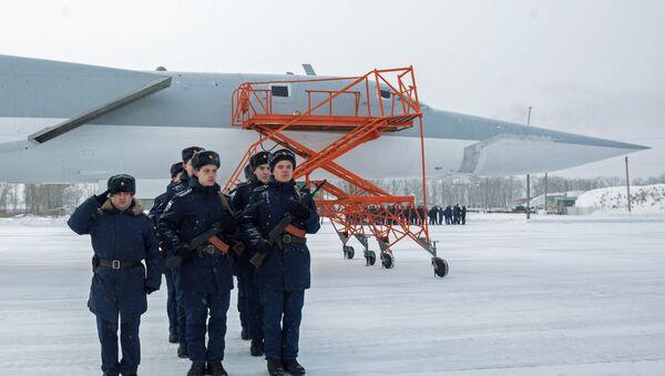 các máy bay ném bom Tu-22M3 tới Nga - Sputnik Việt Nam