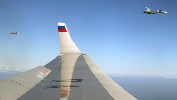 Президент РФ В. Путин посетил авиабазу Хмеймим в Сирии - Sputnik Việt Nam