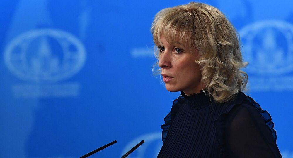 Đại diện chính thức của Bộ Ngoại giao Nga Maria Zakharova