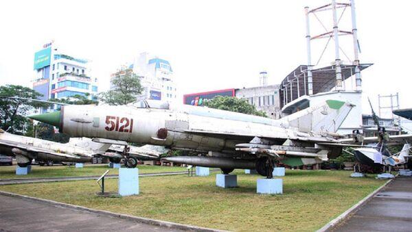 Máy bay tiêm kích MIG-21 do Phạm Tuân điều khiển bắn rơi B52 vào đêm 27/12/1972. - Sputnik Việt Nam