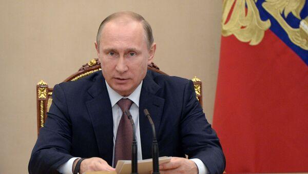Tổng thống Vladimir Putin - Sputnik Việt Nam