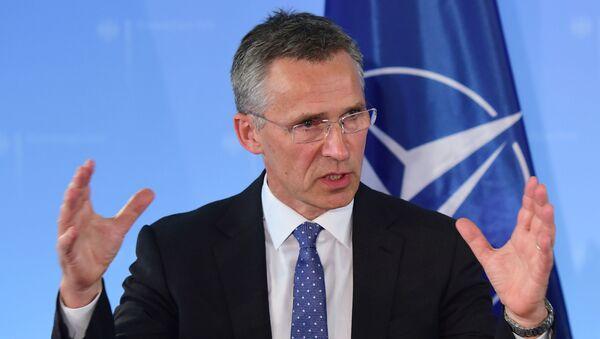 Tổng thư ký NATO Jens Stoltenberg  - Sputnik Việt Nam