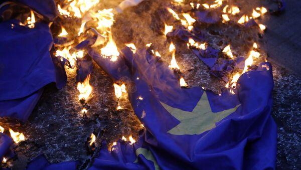 The Guardian: Ở Hy Lạp Đức chứng minh không có châu Âu chung - Sputnik Việt Nam