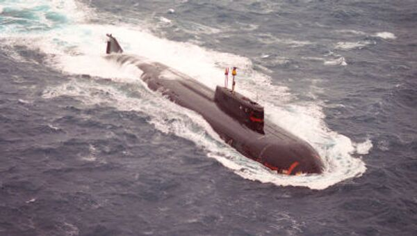 Tàu ngầm hạt nhân ở biển Barents - Sputnik Việt Nam