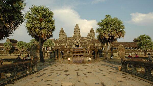 Quần thể đền thờ Angkor Wat ở Campuchia - Sputnik Việt Nam