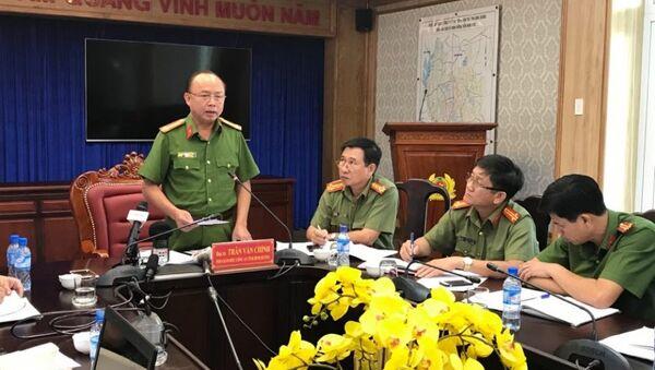 Công an Bình Dương gặp gỡ báo chí, thông tin về vụ án giết người, phân xác gây rúng động dư luận - Sputnik Việt Nam