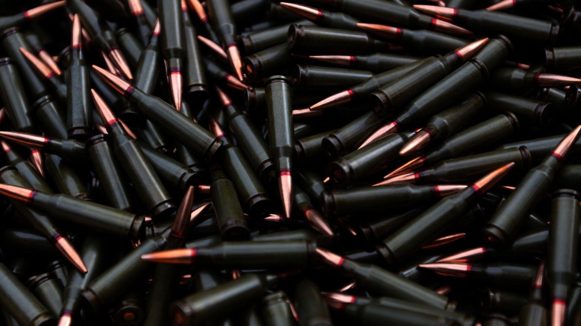 Viên đạn có kích thước 5,45 x 39 mm. - Sputnik Việt Nam, 1920, 12.10.2021