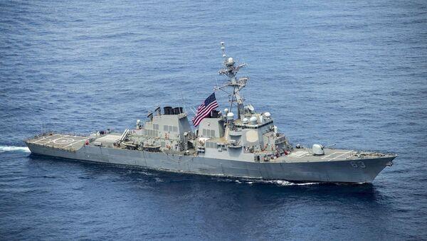 Tàu USS Stethem ở Biển Đông - Sputnik Việt Nam
