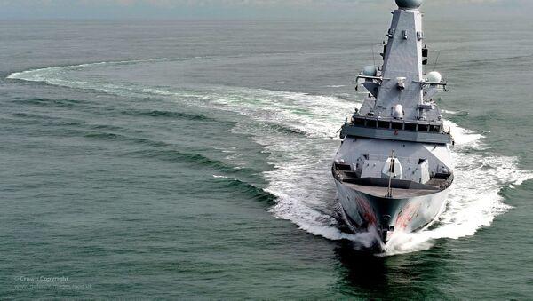 Tàu HMS Dragon của hải quân Anh   - Sputnik Việt Nam