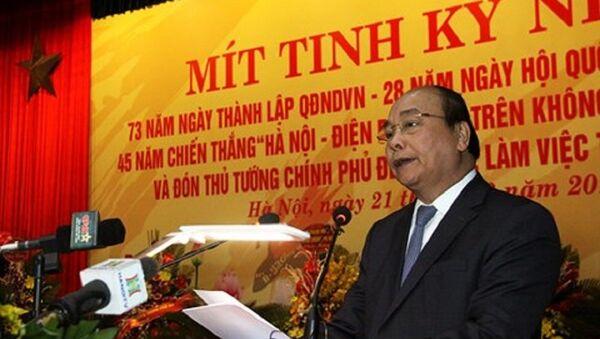 Thủ tướng Chính phủ Nguyễn Xuân Phúc - Sputnik Việt Nam