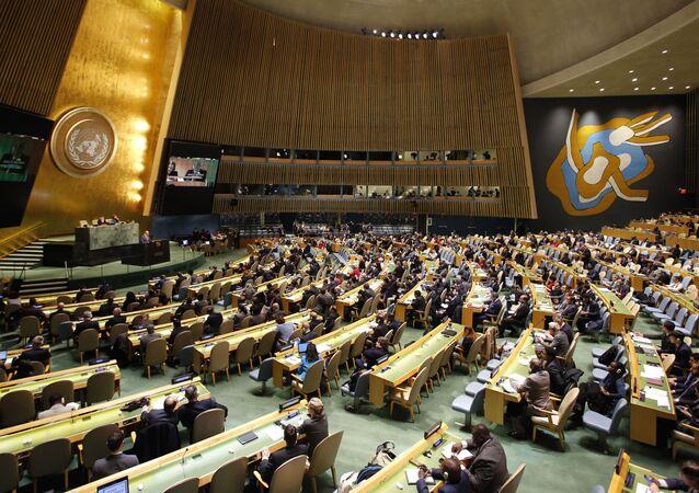 Hôm thứ Năm, tại phiên họp khẩn cấp, Đại hội đồng LHQ đã thông qua nghị quyết kêu gọi Mỹ rút lại tuyên bố công nhận Jerusalem là thủ đô của Israel. Nghị quyết đã được thông qua với 128 phiếu thuận, 9 phiếu chống và 35 phiếu trắng.