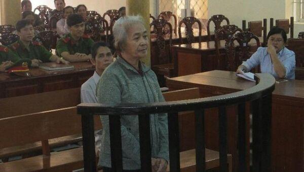 Bị cáo Dao tại tòa - Sputnik Việt Nam