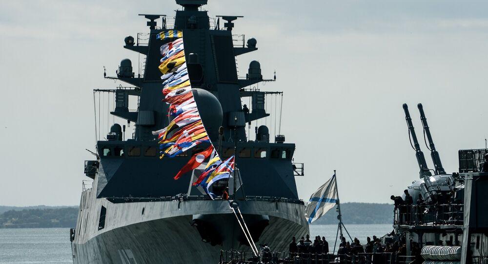 Đô đốc Gorshkov của Hạm đội Liên Xô