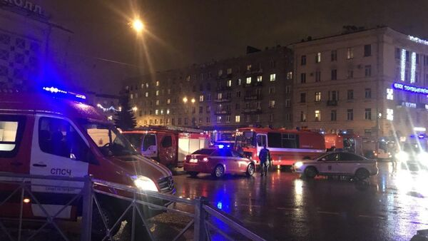 Explosion in a shop in the Russian city of St. Petersburg on December 27, 2017 - Sputnik Việt Nam