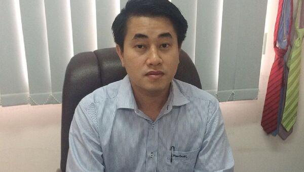 Ông Huỳnh Thanh Phong có trình độ B tiếng Anh khi được bổ nhiệm làm giám đốc Sở Công thương Hậu Giang - Sputnik Việt Nam
