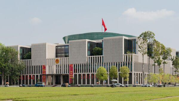 Tòa nhà Quốc hội tại Hà Nội Việt Nam - Sputnik Việt Nam