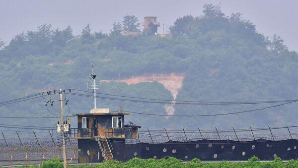 biên giới Hàn Quốc và Bắc Triều Tiên - Sputnik Việt Nam