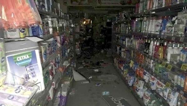Последствия взрыва в магазине Перекресток в Санкт-Петербурге - Sputnik Việt Nam