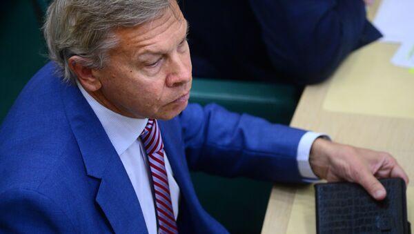 Thượng nghị sĩ Nga Alexei Pushkov  - Sputnik Việt Nam