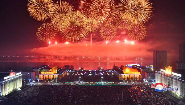 Đón mừng năm mới tại CHDCND Triều Tiên - Sputnik Việt Nam