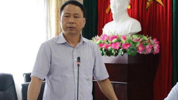 Ông Nguyễn Hồng Lâm, Chủ tịch UBND huyện Quốc Oai - Sputnik Việt Nam