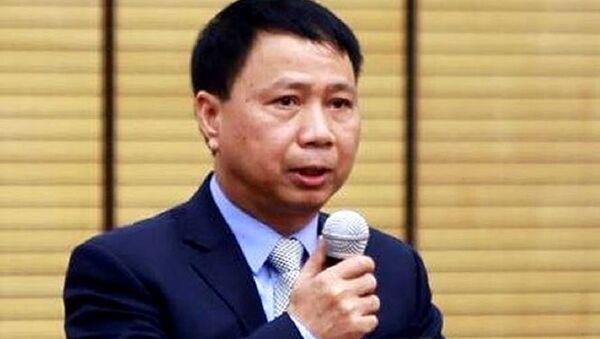 Chủ tịch UBND huyện Quốc Oai Nguyễn Hồng Lâm - Sputnik Việt Nam