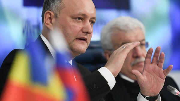 Tổng thống Moldova Igor Dodon - Sputnik Việt Nam