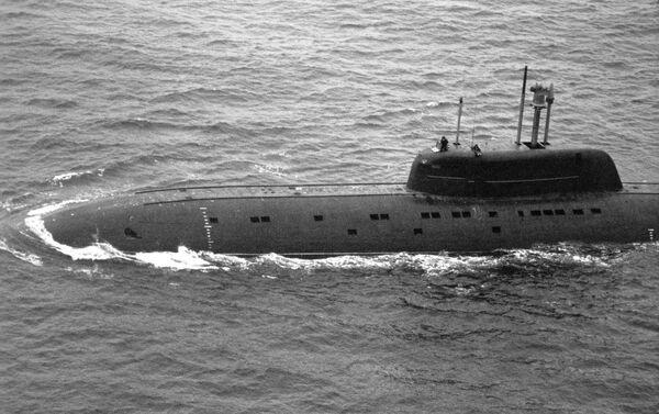 Tàu ngầm hạt nhân dự án Barracuda  - Sputnik Việt Nam