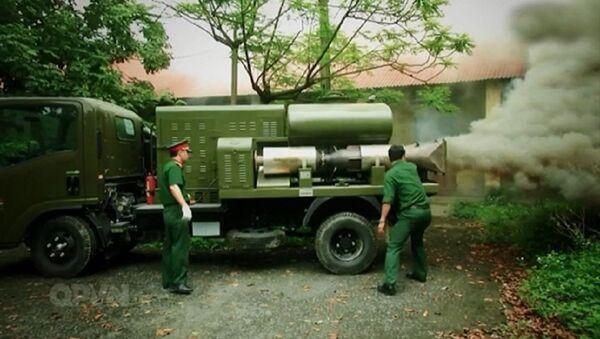 Xe thả khói KH-01 - Sputnik Việt Nam