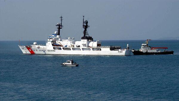 Tàu tuần tra cỡ lớn Mỹ USCGC Sherman WHEC-720 - Sputnik Việt Nam