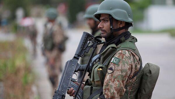 Người lính quân đội Pakistan - Sputnik Việt Nam
