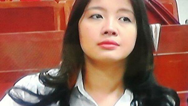Bà Đặng Ngọc Lan, vợ Bầu Kiên. - Sputnik Việt Nam