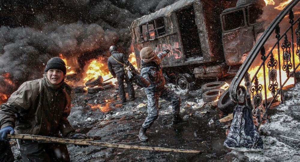 những sự kiện xảy ra ở Kiev vào năm 2014